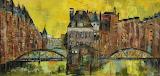 油画 汉堡的夏天