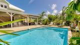 Luxury Caribbean villa and pool