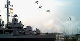 USS KIDD Air Raid