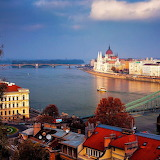 The Beautiful View from Budapest...