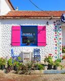 cheerful entrance shop
