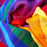 Colorful Scarves...