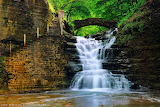 #Iconic View The Old Stone Walkway Ithaca NY by Joe Braun