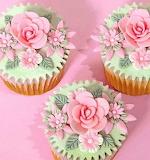 #Exquisite Flower Cupcakes