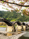 Kintai Bridge in Iwakuni, Japan