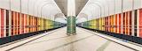 Metro station Munich Germany