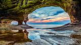 Cavern, Lake Superior, Michigan