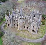 Castle in woods