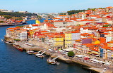 Houses, city of Portus Cale in Portugal