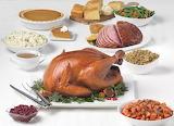 ^ Thanksgiving & Christmas - Turkey and Ham Feast