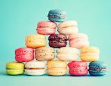 Colorful dessert