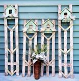 DIY Recycled into Garden Decor
