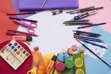 Utensilien zum malen