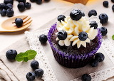Cupcake Blueberries