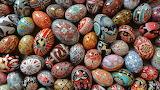 High-gloss-pysanky-eggs