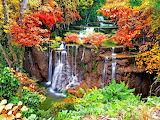 Waterfalls-autumn