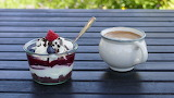 ^ Individual Trifle with Coffee