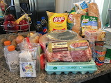 Groceries — Watch out! This one is bound to make you hungry :)
