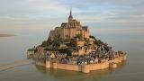 Mont-Saint-Michel vu du ciel