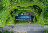 Royal Park Hotel Singapore aerial