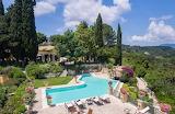 Luxury villa, garden and pool in Corfu