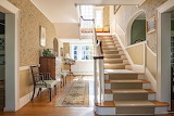 Carpeted Staircase Entry
