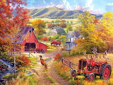 Country Lane~ AbrahamHunter