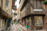 Shambles shopping area, York, UK