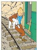 Tintin prend le train en marche