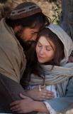 Mary-joseph-journey-to-bethlehem, woman, man, love