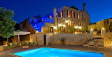 Luxury traditional villa and pool crete