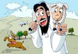 9. Jesús encuentra la oveja perdida