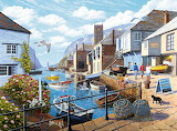 Tranquil Harbour by Stephen Cummins...