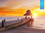 Sunset in Indian Ocean, Maldives by auricle99 from magic jigsaw