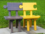 Puzzle bench
