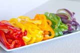 ^ Sliced bell peppers ~ ginauf - Fotolia