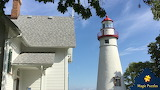 Marblehead, Ohio lighthouse by Yvonne Drake Beckman from auricle