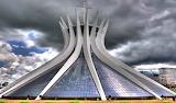 Brazilië Brasilia-Kerk