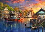 Sunset Fishing Trip - Dominic Davison
