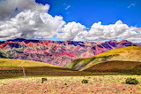 The Colorful Hornocal Mountains in Argentina SA