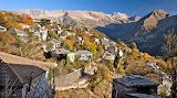 Fall colors Kalarites Greece