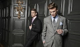 Bespoke suits from pins and stripes