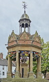 U.K., England, Boroughbridge, Market Well