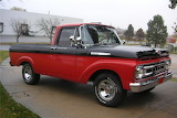 Front 1961 Ford Pickup