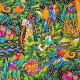 Laurel Burch Jungle