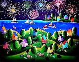#Fourth of July Fireworks by Renie Britenbucher