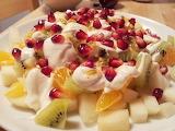 ^ Fruit salad