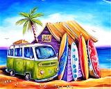 #Surf Greenie by Deb Broughton