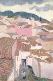"""Cityscape tumblr campsis """"Constantine, Algeria"""" """"Maurice Denis"""""""