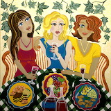 ^ Three Girlfriends Celebrate ~ Lisa Frances Judd